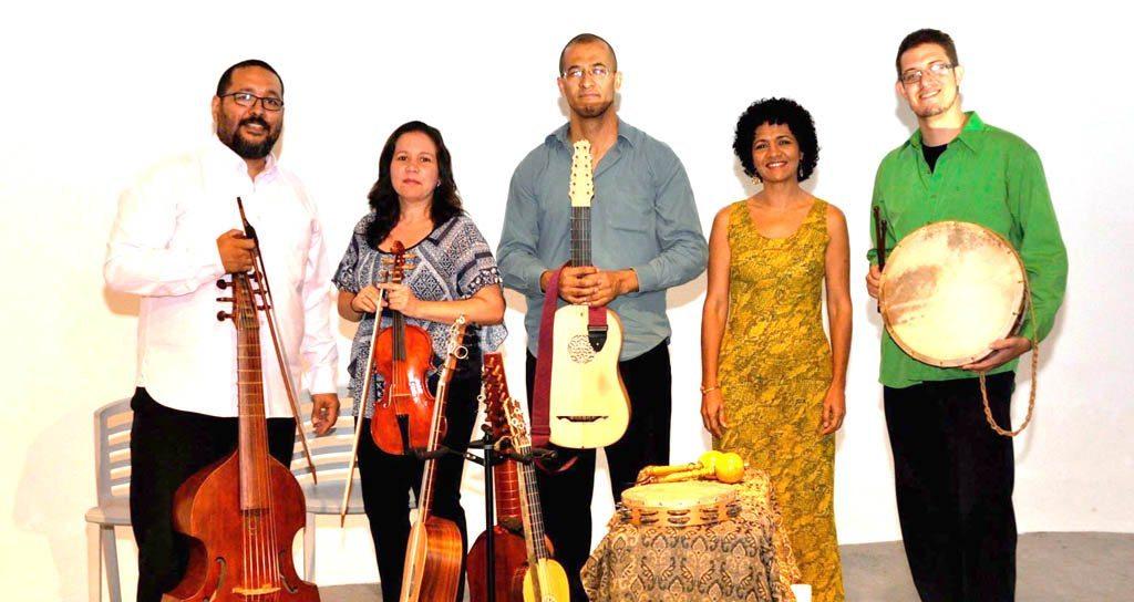 """Concierto del Ensamble de Música Antigua """"Cumbé y Zarambeque en el marco de la celebración de la Semana de Caracas"""