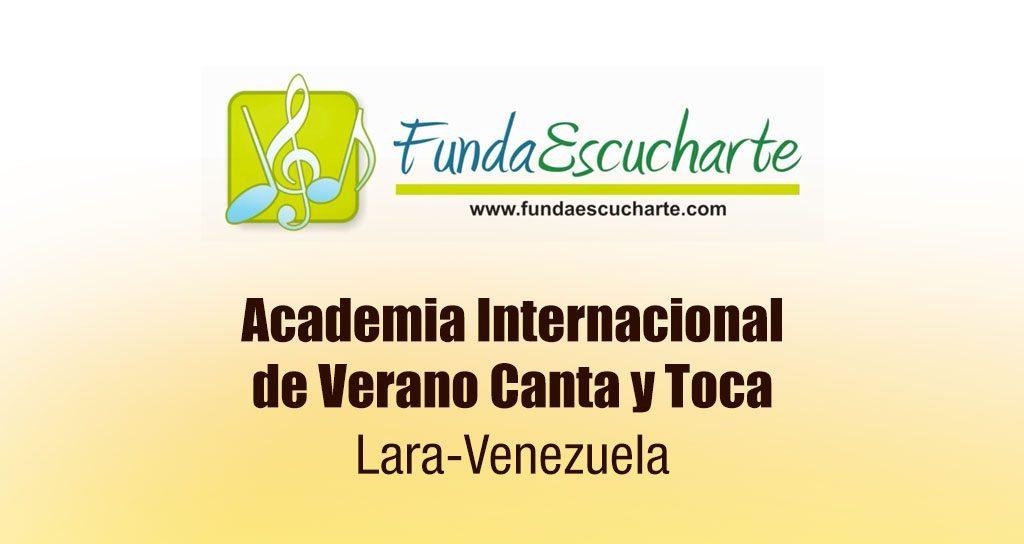 Fundaescucharte, Lara será Capital de la Pedagogía Musical