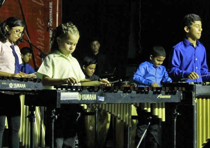 En julio será el turno de los niños y jóvenes de la Escuela de Percusión de El Sistema