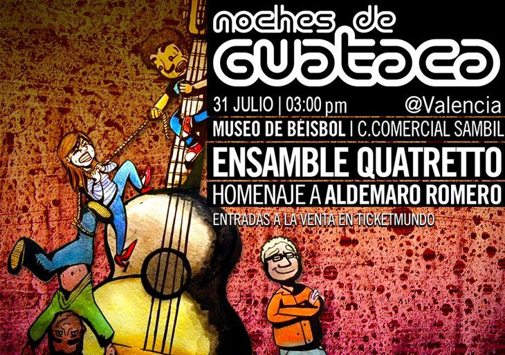 "Ensamble Quatretto le rinde homenaje a la Onda Nueva con ""A ti Aldemaro"""