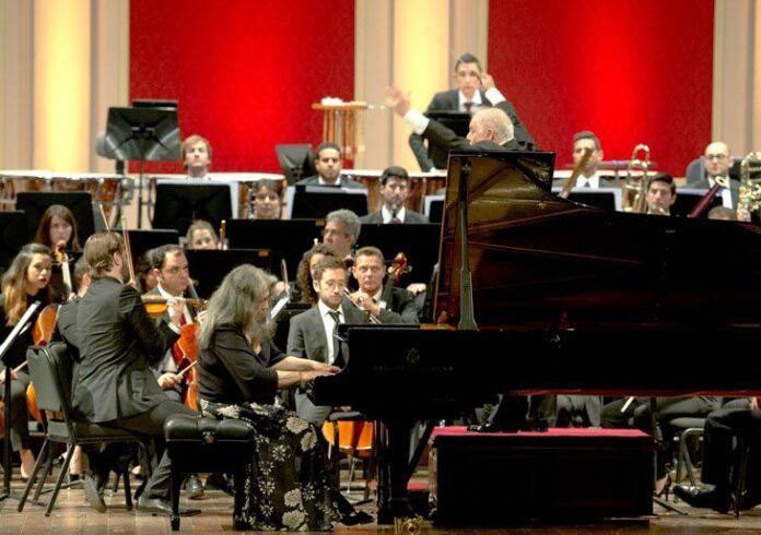 Barenboim y Argerich en el Teatro Colón