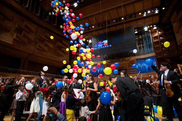 Una fiesta inesperada celebró 38 años de la Sinfónica Simón Bolívar