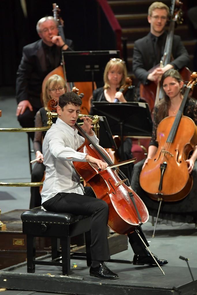 El cellista Narek Hakhnazaryan / Chris Christodoulou