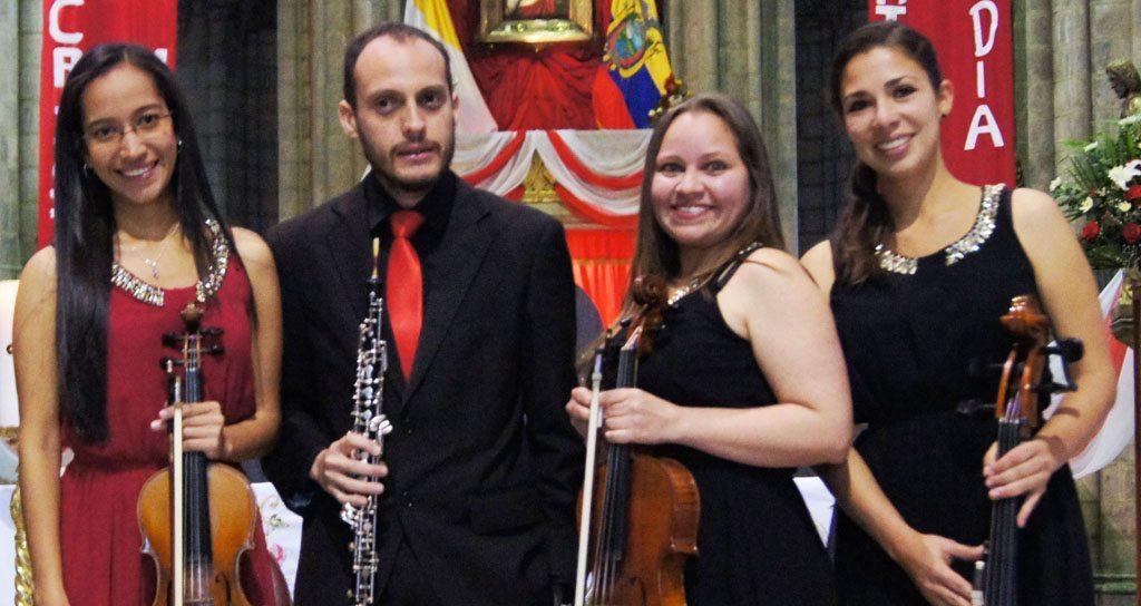"Cuarteto ""Autana"" presente en el III Festival Internacional de Música de Cámara de Quito"