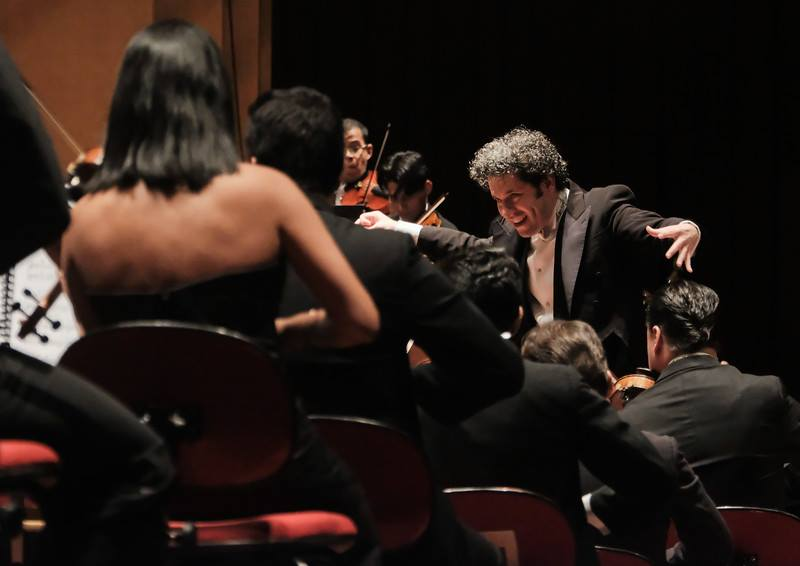 El Sistema Stockholm Gustavo Dudamel Orquesta Sinfónica Simón Bolívar | Las Fotografías son cortesía del Servicio de Prensa del Baltic Sea Festival | Fotos: Arne Hyckenberg
