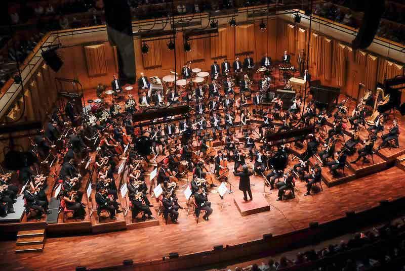 Imágenes del concierto de la Orquesta Sinfónica Simón Bolívar en Estocolmo