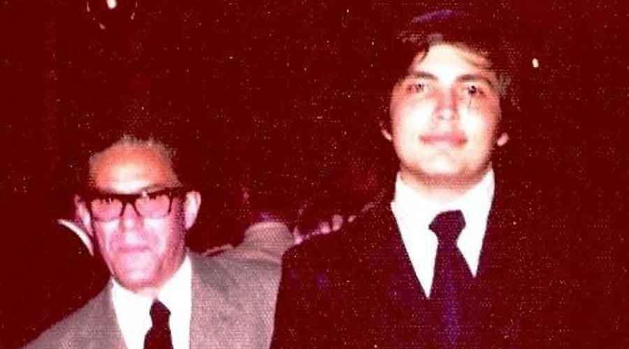 Antonio Estévez y Felipe Izcaray