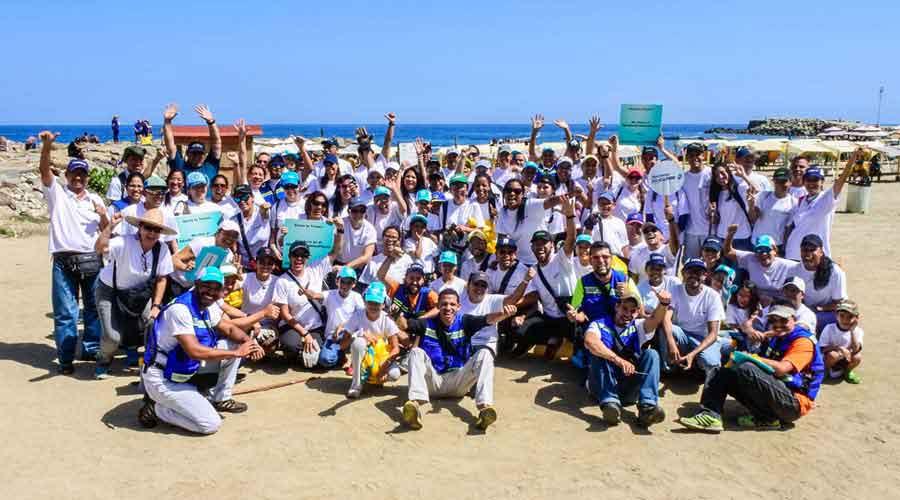 Más de 300 Voluntarios Bancaribe se sumaron a la limpieza de playas
