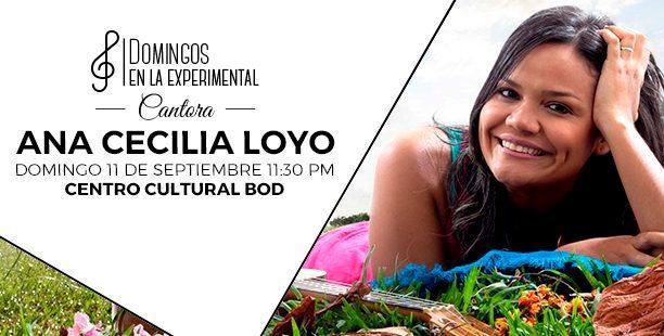 Ana Cecilia Loyo continúa el ciclo Cantora en el Centro Cultural BOD