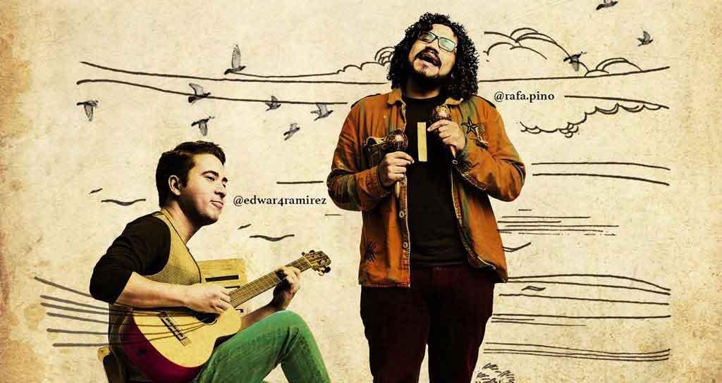 Edward Ramírez y Rafael Pino presentan en vivo El Tuyero Ilustrado
