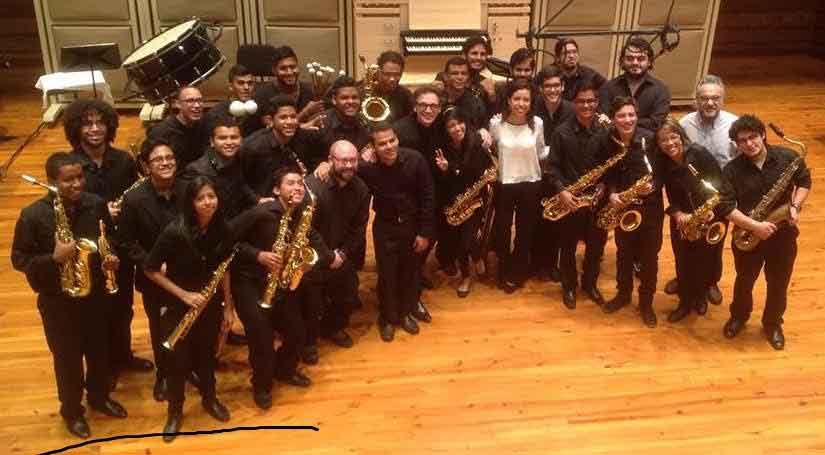 Ensamble de saxofones del Conservatorio de Música Simón Bolívar mostrará su versatilidad