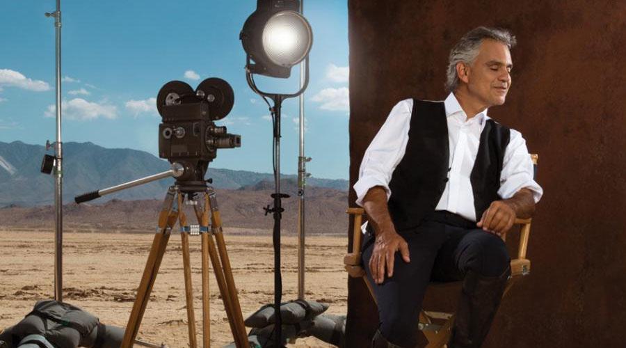 """Andrea Bocelli, con La Viola: """"La música es un ingrediente necesario para mi vida"""""""