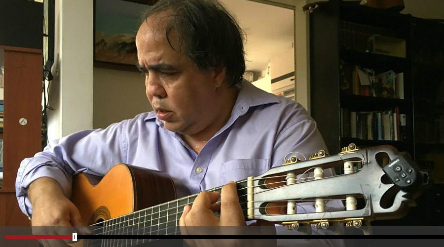 Aquiles Báez: Una melodía optimista de Venezuela