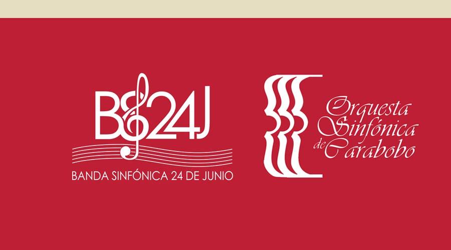 La Orquesta Sinfónica de Carabobo y la Banda Sinfónica 24 de Junio celebran aniversarios con magistral concierto