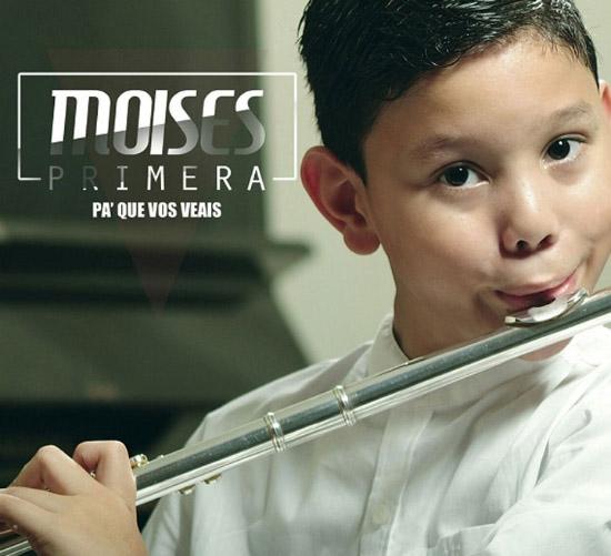 El pequeño zuliano Moisés Primera lanza su primer disco como solista de flauta