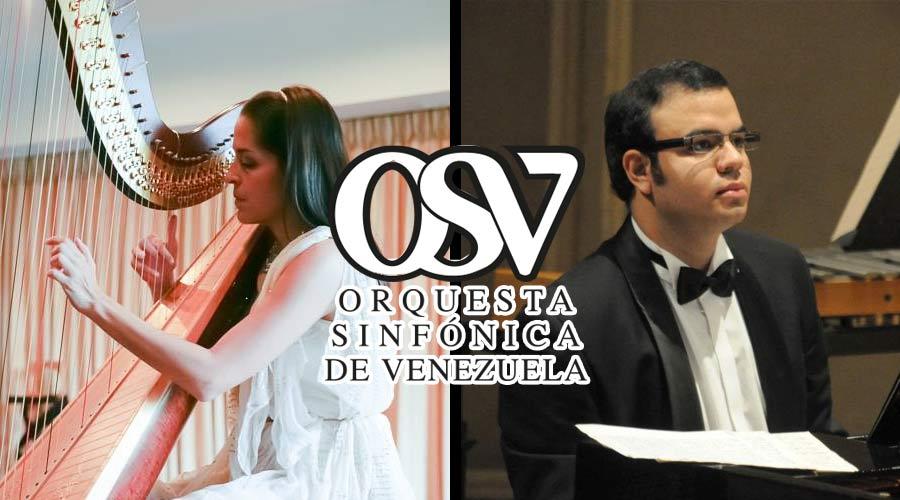 La Orquesta Sinfónica de Venezuela celebra su 86° Aniversario en la Ríos-Reyna