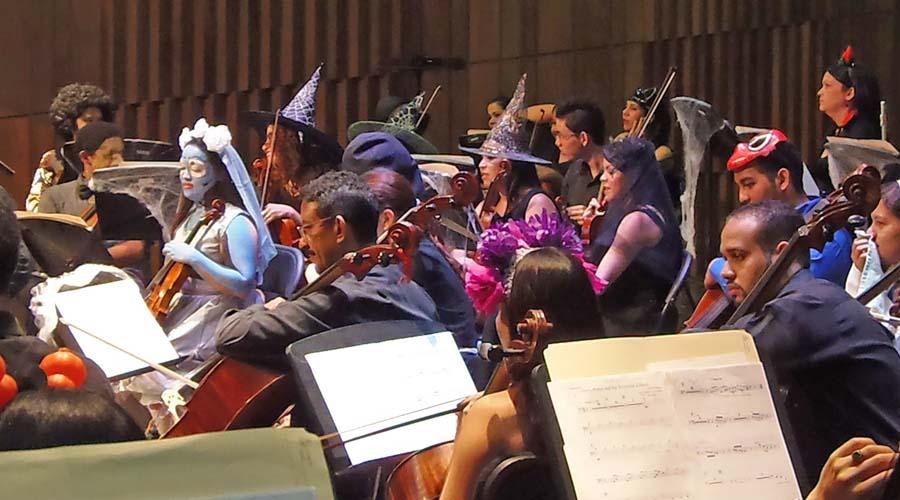Sinfónica de Falcón presenta concierto Especial de Halloween en el Teatro Armonía