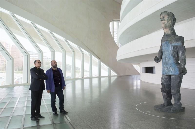 El idilio entre Livermore y Cortés abre la puerta a una relación artística cruzada entre Les Arts y el IVAM