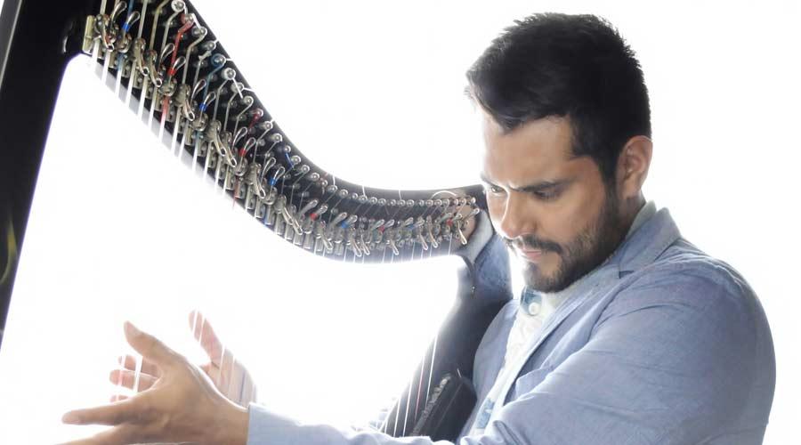 El arpa venezolana de Leonard Jácome se presenta con la  Filarmónica de Malasia