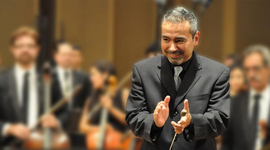 César Iván Lara conduce el cierre de la Fiesta Germanoparlante, junto a la Orquesta Filarmónica de Mendoza