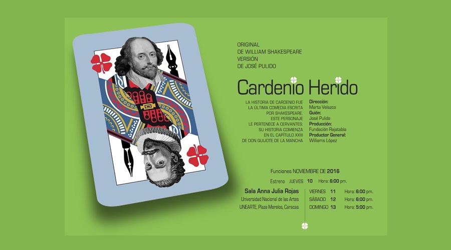 Cardenio Herido: Shakespeare y Cervantes reescritos en papel cortado