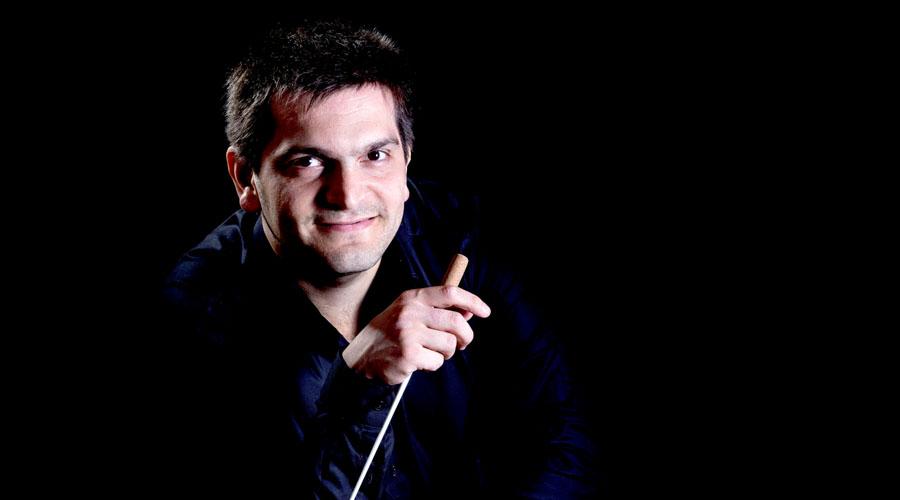 Entre el arco y la batuta vibra la música de Diego Naser