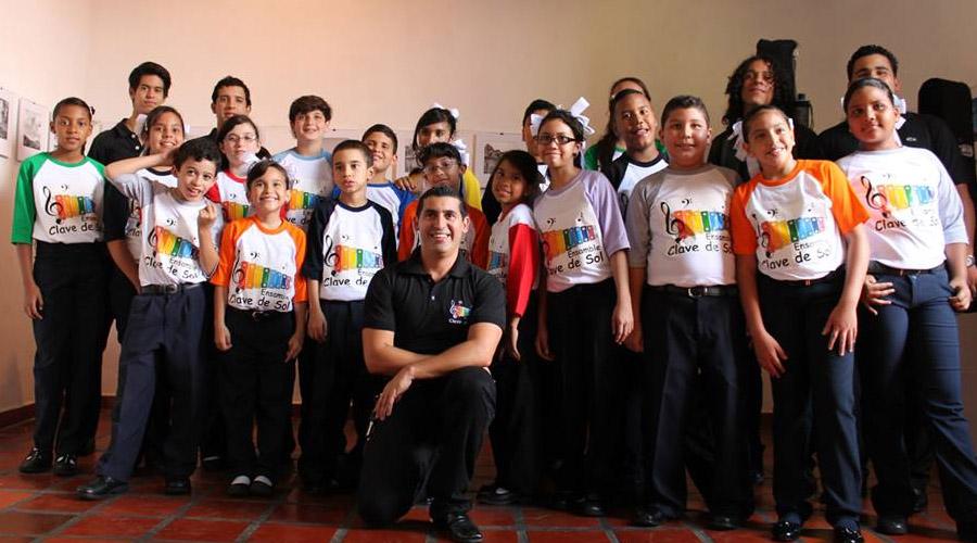 Ensamble Clave de Sol y el Coro Juvenil SB se reúnen en la UCV
