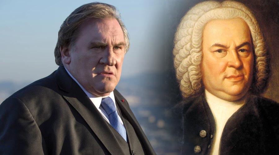 ¿Gérard Depardieu será Johann Sebastian Bach?