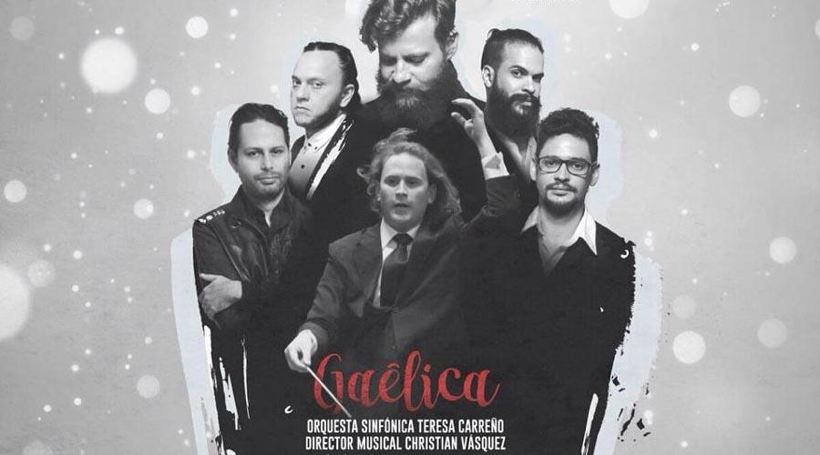 Gaélica trae su 'Sinfonía de Paz' al Teatro Teresa Carreño