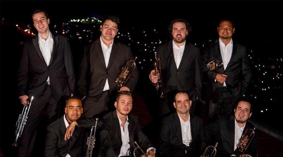 Luego de su debut en Berlín llega al Táchira el Ensamble de Trompetas Simón Bolívar