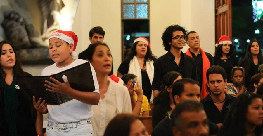 De Maracay pa' Caracas: El Coro de Aragua le canta a la Navidad