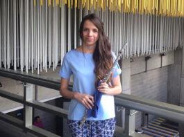 La flautista Carmen Delgado participará como solista con el Concierto para Flauta en Re Mayor del compositor Carl Reinecke.