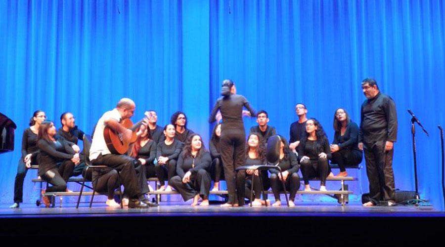 El Coro de Cámara del Conservatorio de Música del edo. Aragua le canta a los niños