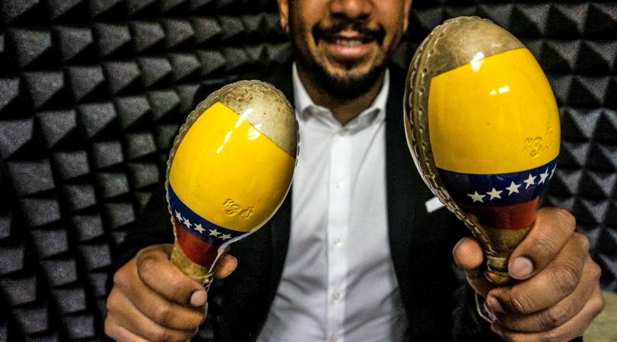 """Edwin Sanz presenta su single """"Yo vengo de Venezuela"""""""
