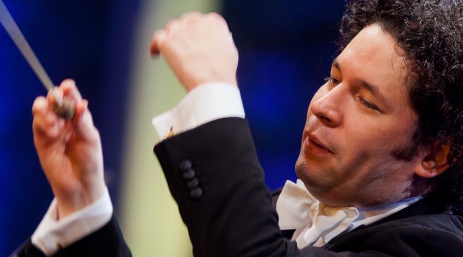 Gustavo Dudamel, el más joven en dirigir el Concierto de Año Nuevo en Viena