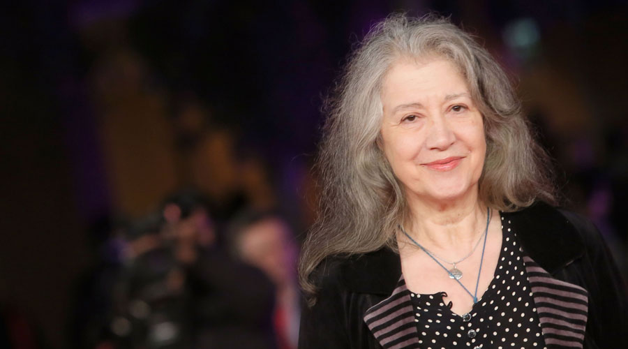 Importante premio recibió Martha Argerich