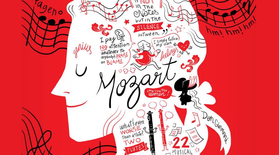 Mozart es lo más vendido del 2016