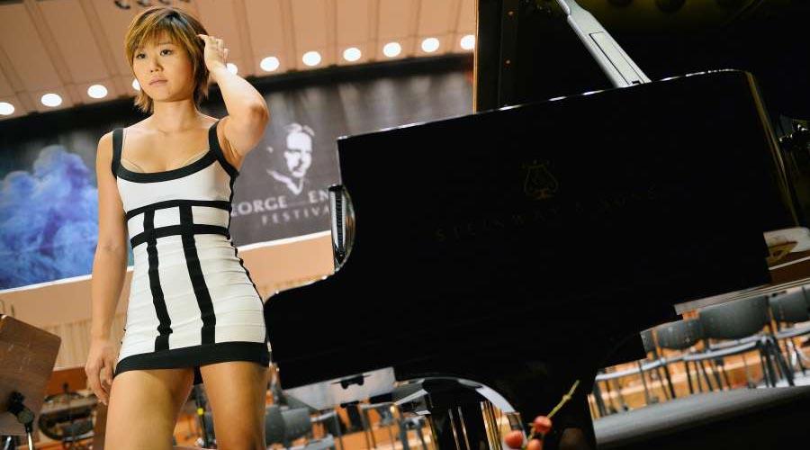 La pianista más sexy del mundo