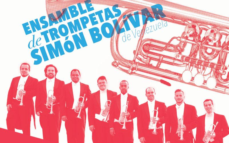 El Ensamble de Trompetas Simón Bolívar de Venezuela se presenta en Bogotá