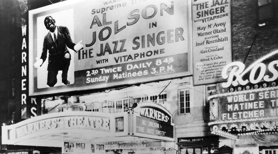 'The Jazz Singer', la primera película sonora en la historia del cine