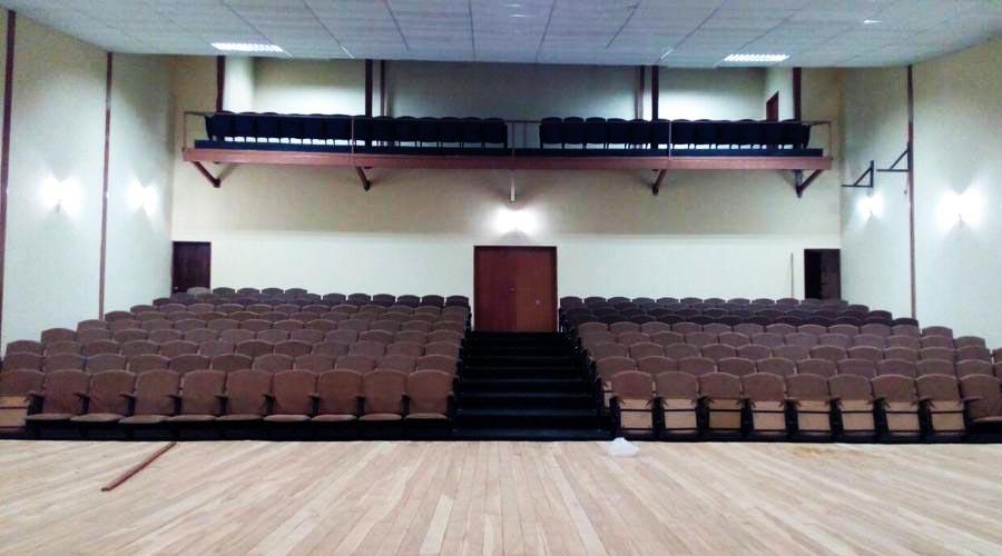 El teatro municipal Christian Vásquez se inauguró en San Sebastián de los Reyes