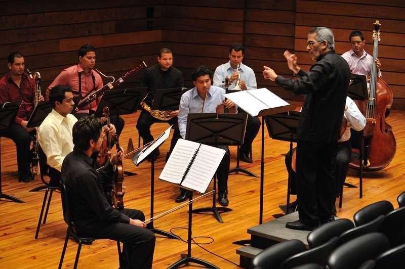 Este domingo se presenta en Concierto el Ensamble de Música Contemporánea Simón Bolívar