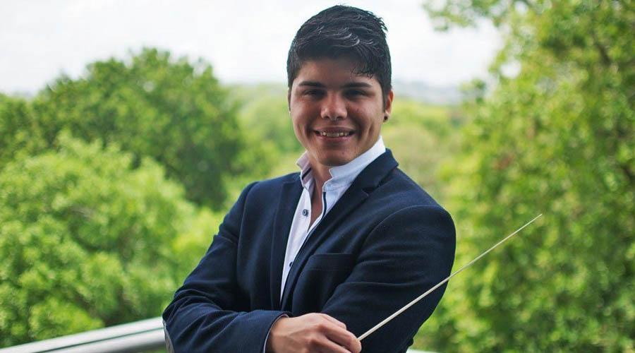 Manuel Jurado compite en el Concurso Internacional de Dirección Orquestal 3.0