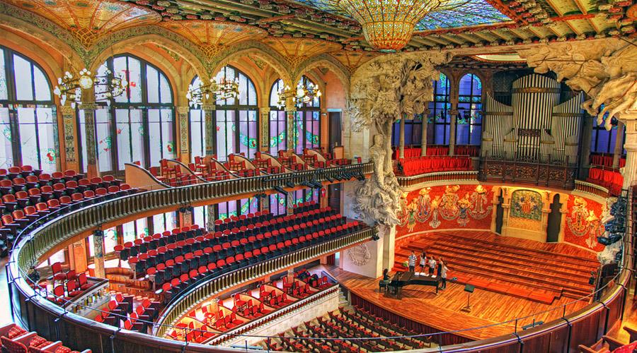 Palau de la Música Orféo Catalá de Barcelona