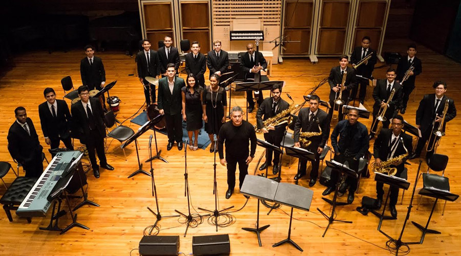La Simón Bolívar Big Band Jazz inicia ciclo de conciertos en UNEARTE con nuevo repertorio