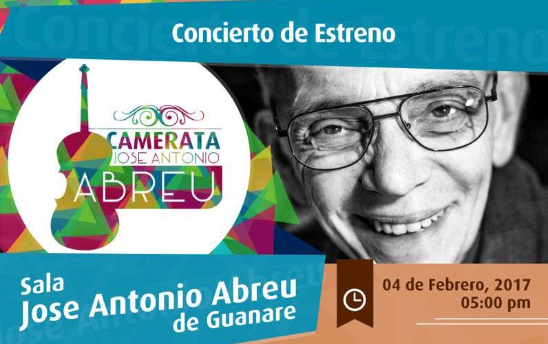 «Gran concierto inaugural de la Camerata José Antonio Abreu»