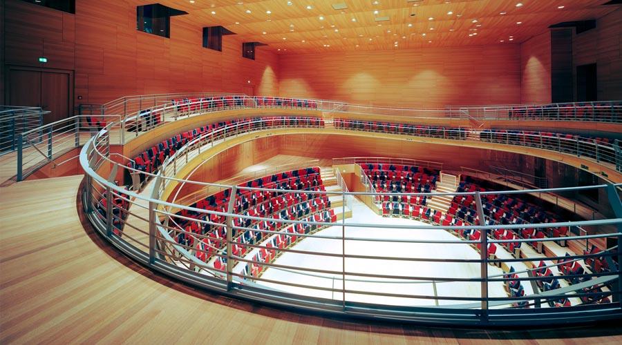 Un sueño cumplido: Barenboim inaugura una nueva sala de conciertos