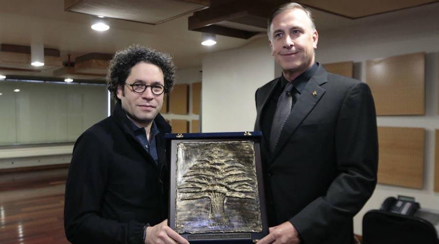 Dudamel recibió reconocimiento de la Embajada de Líbano