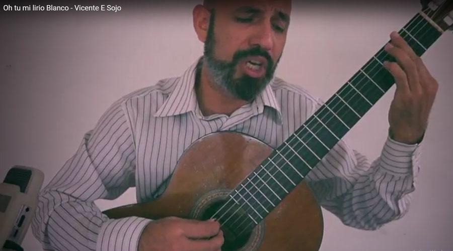 Gregory Pino interpreta: Oh tú mi lirio Blanco de Vicente Emilio Sojo
