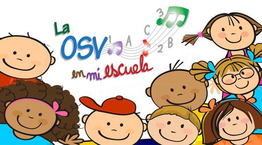 «La OSV en mi Escuela» inicia su proyecto didáctico en Los Galpones